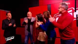 Yann'sine Jebli - Dernière danse (Indila) The Voice
