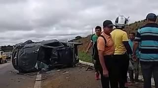 Acindete na BR 116 Planalto. Bahia