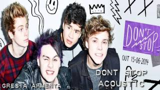 Don't stop - 5SOS (Acoustic) EP