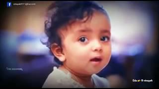 Cute baby with cute Malayalam song kathu kuthi kayithola... | Baby Viral in 2017