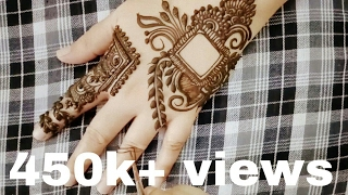 New henna design for diwali 2016