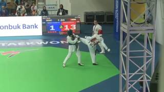 India vs Iran women -67 kg (R64) WTF World Taekwondo Championship 2017 Muju