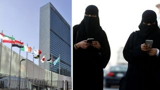 Outrage after UN elects Saudi Arabia to women's rights panel