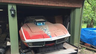 When This Guy Looked Inside His Deceased Friend's Garage, He Unearthed A Rare '70s Drag Racing Beast