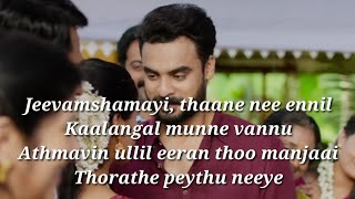 Jeevamshamayi Song Lyrics|Theevandi|Lyrics Video