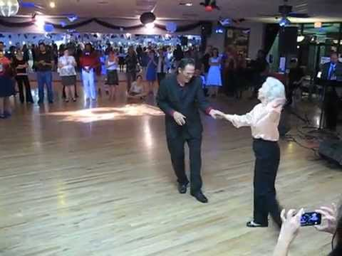 90 year old woman walks onto the dance floor but no one expected this