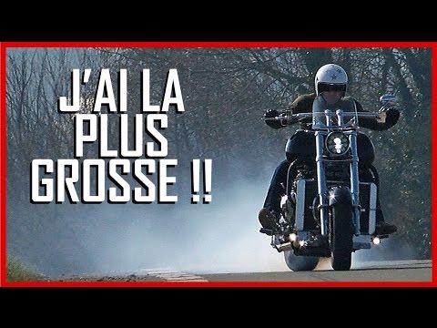 BOSS HOSS test moto La plus GROSSE moto du monde English Subs