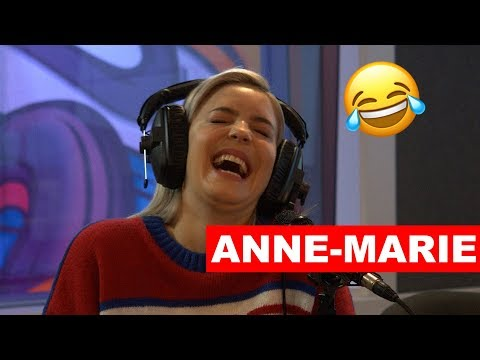 Can Anne Marie Guess these Famous Laughs