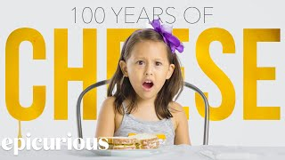 Kids Try 100 Years of Cheese | Bon Appétit