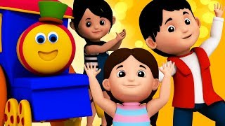 If You Are Happy | Bob The Train | Kindergarten Nursery Rhyme For Children | Video For Toddlers