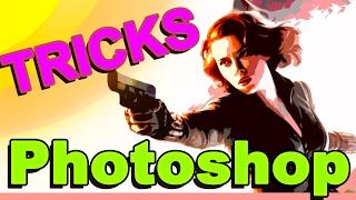Adobe Photoshop Tricks - Scarlett Johansson