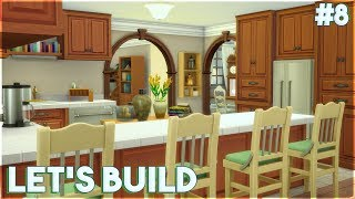 The Sims 4: Let's Build a Family House (Part 8) Kitchen