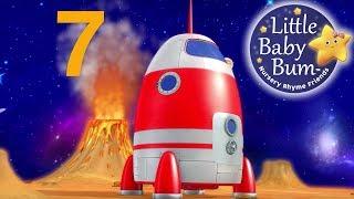 Numbers Song | Space Rocket Ship | Nursery Rhymes | Original Song By LittleBabyBum!