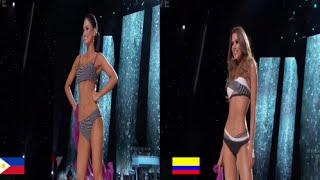 Virreinas Universales Colombianas VS  Reinas Universales