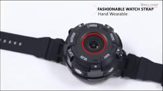 ZGPAX S222 3 waterproof HD Sport Camera Smart Wristband