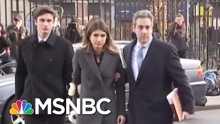 Ex-Trump Personal Lawyer Michael Cohen Sentenced To 3 Years In Prison   MSNBC
