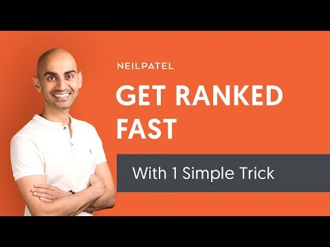 1 Simple Trick to Get Ranked High on Google FAST - HTML Internal Linking for SEO