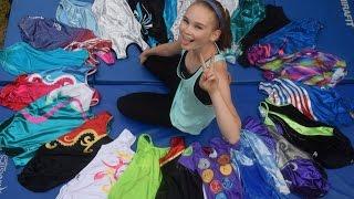 Hannah's Gymnastics Leotard collection