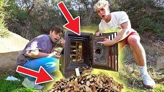 We FOUND a Secret ABANDONED SAFE Filled WITH GOLD!! (RARE)