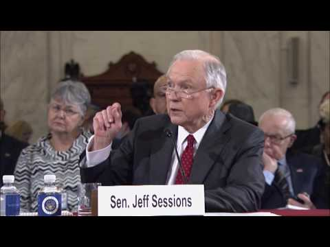 Sen. Franken Quizzes Jeff Sessions At Confirmation Hearing