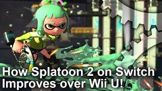Splatoon 2 Switch Analysis: Resolution, Wii U Improvements And More!
