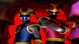 """Power Rangers Ninja Storm - Enter the Thunder Rangers 