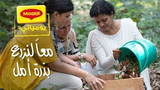 MAGGI Diaries: A pen and a novel eco friendly idea   يوميات ماجي: دعونا ننقذ كوكبنا