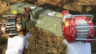 REAL LIFE MYSTERY BOX - Dual Wield Ray Guns & Cymbal Monkeys
