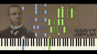 Scott Joplin Piano Rags: Silver Swan Rag   Ragtime #24 (Piano Tutorial)