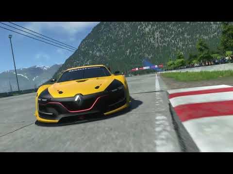 Teste e V.R do Drive Club: Renault R.S 01 3.8 V6 24V Biturbo