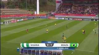U20 Nigeria  v Brazil. 1st Half.  01:06:2015
