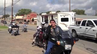 "Houston Southern Cruisers John ""Top Shelf"" Alspaugh's Memorial Ride"