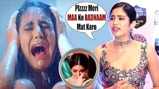 Jhanvi Kapoor GETS ANGRY & WALK OFF on SRIDEVI BIOPIC question by MEDIA