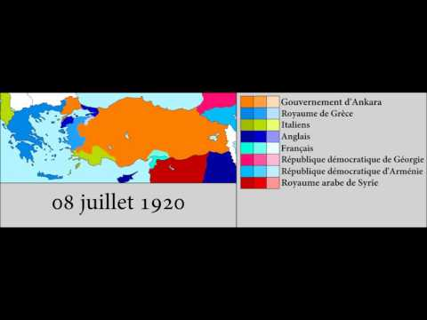 Turkish War of Independance (1919-1922) Every