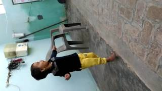 small baby dance on rajasthani song