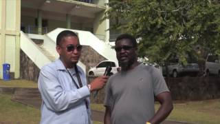 Interview with the coach from the Saint Vincent and the Grenadines Boys' Grammar School