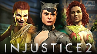 Injustice 2 - Cheetah, Catwoman, & Posion Ivy Reveal Trailer!