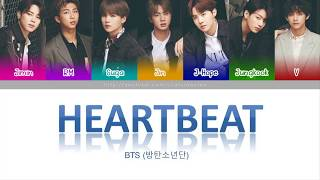 [Viet|Han|Rom] Heartbeat  - BTS (Color Coded Lyric)