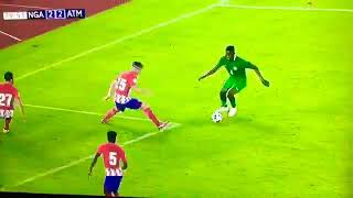 Nigeria VS Atletico Madrid (Usman Mohammed dribble and Goal)
