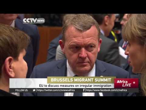 EU leaders discuss measures on irregular immigration
