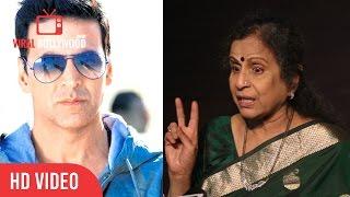 Usha Nadkarni Reaction On Akshay Kumar National Award | Viralbollywood