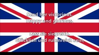 God Save the Queen - Gott schütze die Königin! (EN,DE lyrics)