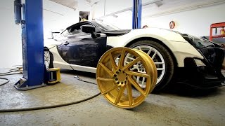 Gold Wheels / Vinyl Wrapping P.1