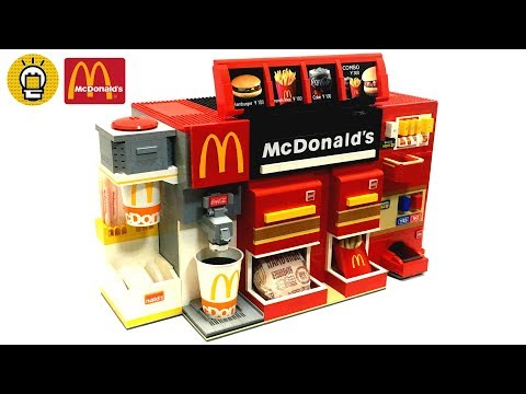 レゴで� �ったマクドナルドが凄すぎた LEGO McDonald s order automation machine