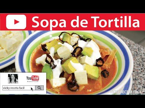 Xxx Mp4 SOPA DE TORTILLA O SOPA AZTECA Vicky Receta Facil 3gp Sex