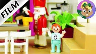 بلايموبيل فيلم | من يشرب مشروب الكاكو فى المطبخ متاخر فى الليل؟ أيما تقابل سانتا كلوز- سلسلة الاطفال
