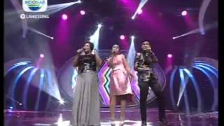 All Finalis - Dangdut - Konser Final 3 Besar part 2 - DAcademy Indonesia