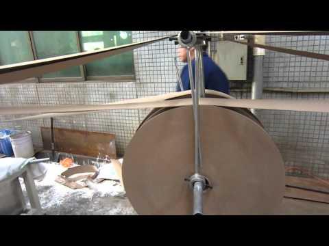 Cortadora de Tubos Tubeteira Espiral Máquina para produção de tubos de papelão em paralelo