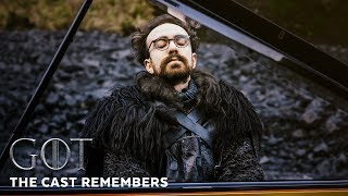 The Cast Remembers | Costantino Carrara on Playing Piano Medley | GoT Making Of