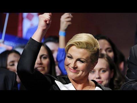 Xxx Mp4 Croatia Elects Kolinda Grabar Kitarovic Its First Female President 3gp Sex